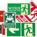 Znaki ppoż i ewakuacyjne
